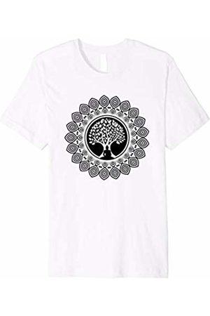 Sherpa Crafts Spiritual Meditating Buddha Yoga T-shirt : Buddhism Symbols