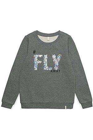 Esprit Kids Sweat Shirt for Girl Sweatshirt, (Dark Heather 201)