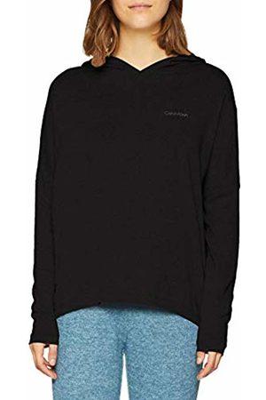 Calvin Klein Women's L/s Hoodie Sweatshirt, ( 001)