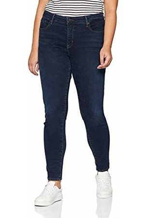 Simply Be Women's Shape & Sculpt Crop Jeans Skinny, (Indigo)