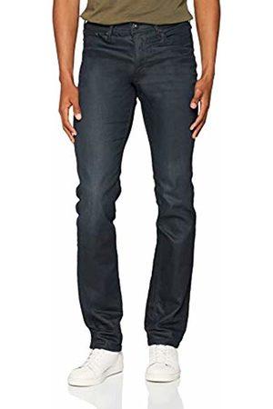 Jack & Jones Men's Jjiclark Jjoriginal Zip Jj 913 Noos Straight Jeans, Denim