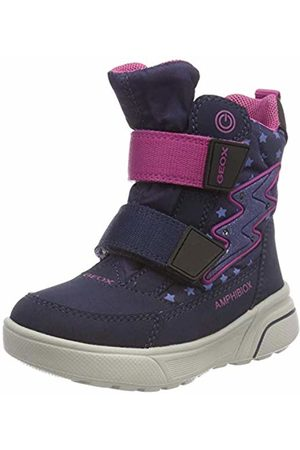 Geox J Sveggen Girl B ABX B Snow Boots, /Dk Fuchsia C4m8d