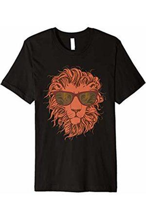 FALLEN REVOL Lion In Sunglasses - Detailed Graphic Design