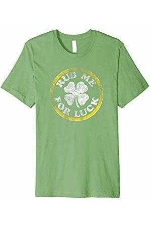 Hybrid Rub me for luck clover T-shirt