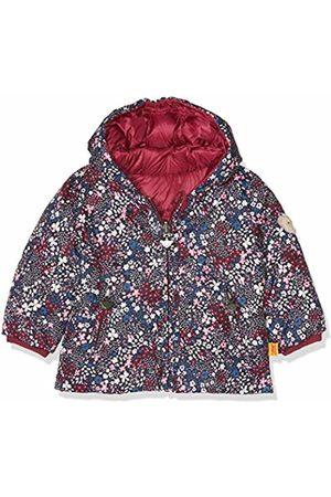 Steiff Baby Girls' Anorak Zum Wenden Jacket, (Anemone|