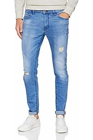 Celio Men's Modesito Slim Jeans, Bleu Baby