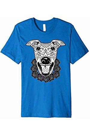 New Look Greyhound Dog T-Shirt - Dia De Los Muertos