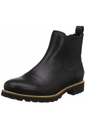 Panama Jack Women's Brigitte Igloo Travelling Chelsea Boots, (Negro B2)