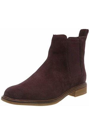 Clarks Women''s Clarkdale Arlo Chelsea Boots, (Burgundy)