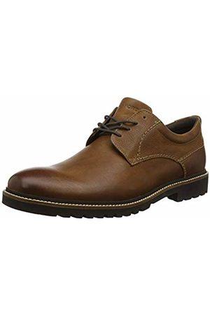 Rockport Men's Marshall Plain Toe Shoe Derbys, Fawn