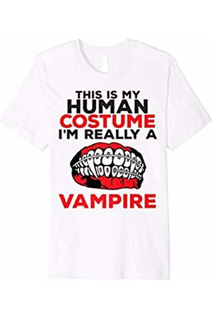 Halloween Family Costumes Funny Human Vampire T Shirt Halloween Costumes Braces Kids