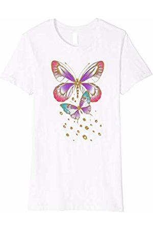 Hybrid Delicate Butterflies Novelty T-Shirt