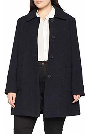 Ulla Popken Women's ausgestellter Kurzmantel Coat, (Dark 70)