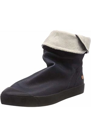 Softinos Women's KAZ469SOF Smooth Leather Ankle Boots