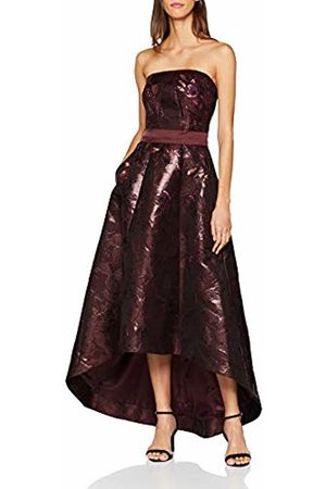 Coast Women's Evelina Party Dress, (Merlot)