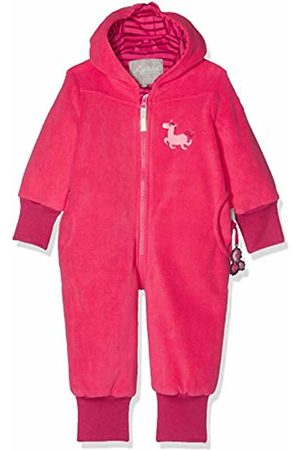 sigikid Girls' Fleece Overall, Baby Snowsuit, (Rot (Raspberry Sorbet 678)