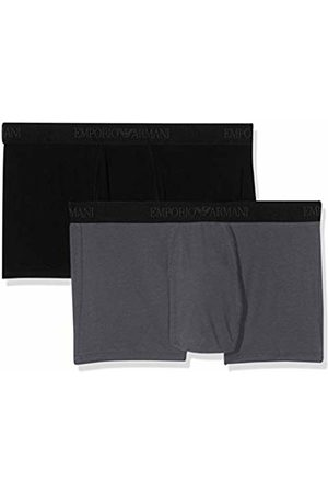Emporio Armani Underwear Men's 2-Pack Trunk/Retro Shorts