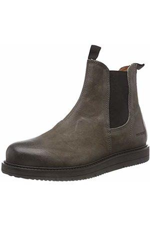 Ten Points Damen Carina Chelsea Boots, Grau (Darkgrey 203)