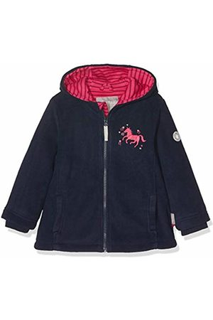 sigikid Girl's Fleece Jacke, Mini Jacket, (Blau (Mood Indigo 275)