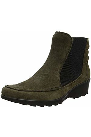 Hotter Women's Tilly Chelsea Boots, (Loden 028)