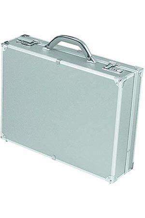 Alumaxx Attachékoffer OCTAN, Aktenkoffer aus Aluminium, Geschäftskoffer silber, Alu Business Koffer Pilot Case, 46 cm