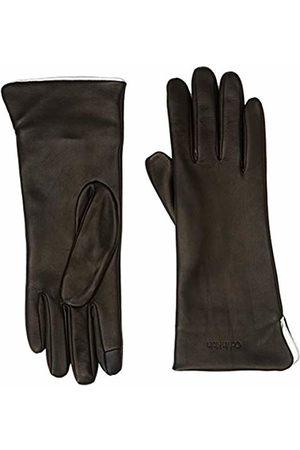 Calvin Klein Women's Clr Contrast Gloves ( 001)