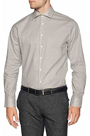 Seidensticker Men's Tailored Langarm mit Kent-Kragen Bügelfrei Gestreift Business Shirt