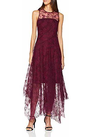 Coast Women's Aldora Party Dress, (Merlot)
