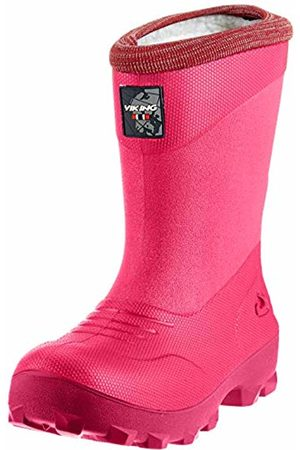 Viking Unisex Kids' Frost Fighter Snow Boots, ( /Cerise 919)