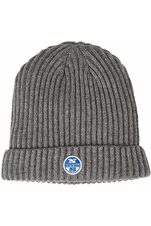 North Sails Men's W\Logo Beanie, (Medium 0928)