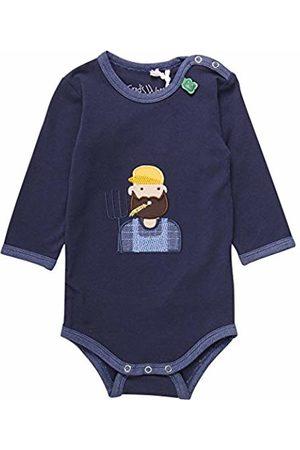 Green Cotton Baby Boys' Tractor Farmer Body Bodysuit