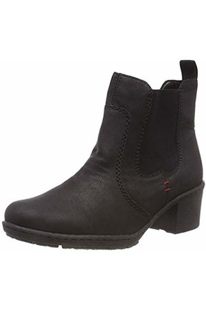 Rieker Damen Y8860 Chelsea Boots, (Schwarz 02)