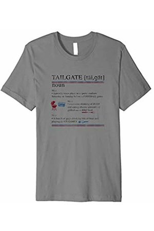 Hybrid Tailgate Definition Football Tee