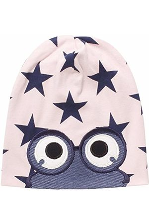 Green Cotton Girl's Star peep Beanie Hat