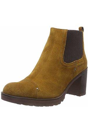 Stonefly Women''s Blasy 2 Velour Chelsea Boots, (Golden 08L)