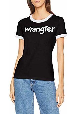 Wrangler Women T-shirts - Women's Ss Logo Tee T-Shirt, ( H01)