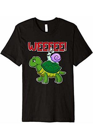 Funny Running T-Shirts by Atomic Bullfrog Studios Funny Turtle Snail Running T-Shirt