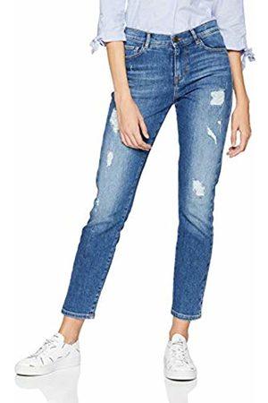 HUGO BOSS Casual Women's J21 Roseville Straight Jeans, (Medium 428)