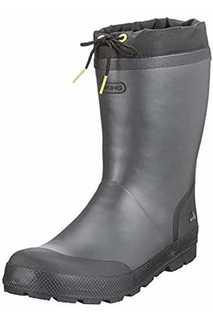 Viking Unisex Kids' SLAGBJORN JR. Warm Wellington Boots, (Dark /Multi 9150)