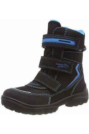 Superfit Boys' Snowcat Snow Boots, (Schwarz/Blau 00)