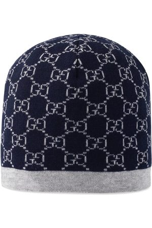Gucci Childrens GG pattern wool hat