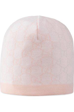 Gucci Baby GG pattern wool hat