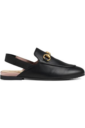 Gucci Childrens Princetown leather slipper