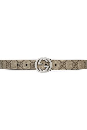 Gucci Childrens GG Supreme belt
