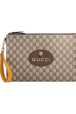 Gucci GG Supreme pouch