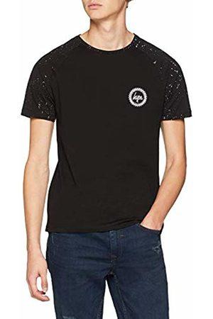 Hype Men's Splat Raglan T - Shirt (Nero )