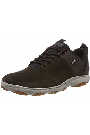 Geox Men's U Nebula 4 X 4 B ABX A Low-Top Sneakers, (Dk Coffee C6t6m)