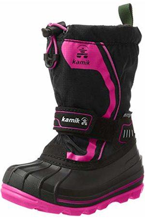 Kamik Girls' Snowcoast4 Snow Boots, ( Noir/Magenta Bma)