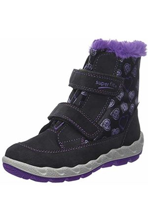 Superfit Girls' Icebird Snow Boots, (Grau/lila 20)
