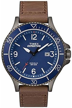 Timex Men's Expedition Ranger Dial with a Leather Strap Watch TW4B10700